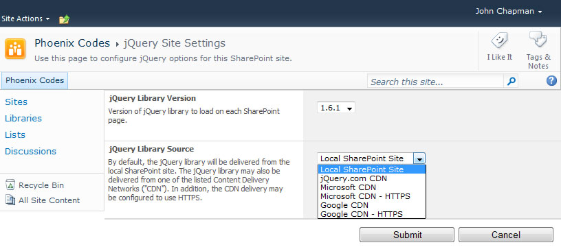 sharepoint 2010  solution to load jquery on all pages