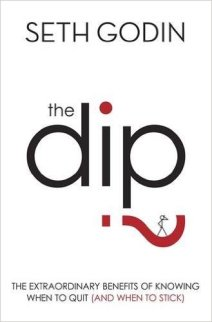 The Dip by Seth Godin - personal development