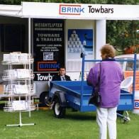 Scunthorpe telegraph motor show circa 1997 promoting brink towbars