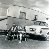 Sam and Alice Cooper grand parents enjoying their summer holidays circa 1963