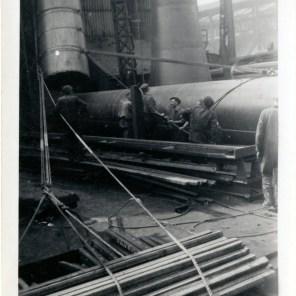Another British steel works Scunthorpe granddad sam cooper over seeing engineering
