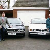 John Cooper snr and junior circa 1997