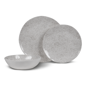 Kampa Dometic Natural Stone Dinner Plate – Melamine Tableware