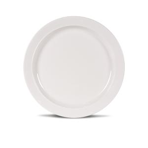 Kampa Dometic Classic White Dinner Plate – Melamine Tableware