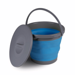 Kampa Dometic 5L Collapsible Bucket Blue – Collapsible Kitchenware