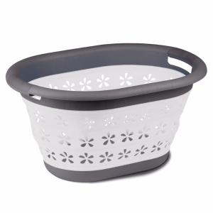 Kampa Dometic Collapsible Laundry Basket Grey  – Collapsible Kitchenware – 9120001412