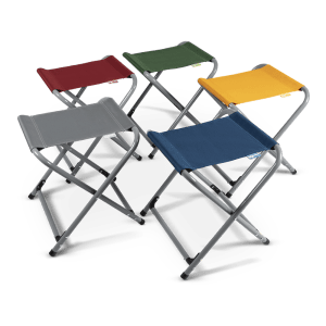 Kampa Dometic Camping Stools Mixed Colours – Camping Chairs