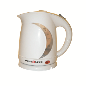 Milenco Swiss 1.2l Low Wattage Cordless White Kettle