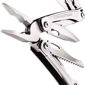 Leatherman LT200 Sidekick Stainless Steel with Nylon Sheath  – Full-Size Multi-Tools
