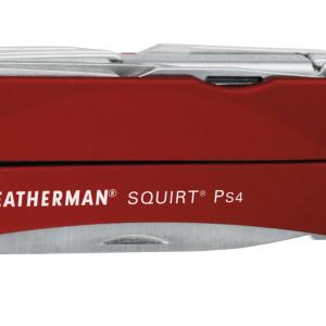 Leatherman LT40-R Squirt PS4 Red  – Keychain Multi-Tools