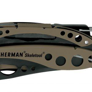 Leatherman LT85-CB Skeletool Coyote & Black – No Sheath – Pocket Multi-Tools
