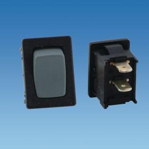 PowerPart 320010 – Small Grey On/Off Rocker Switch