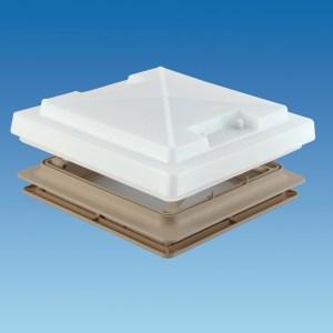 PLS 900080 – 280 x 280 Rooflight c/w Flynet – Beige