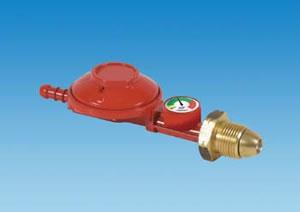 PLS T37GAUGE – Propane Regulator 37mbar (1 kg/Hr) with Level Gaug