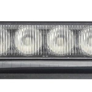 Maypole Strobe LED – Amber 12/24V 4X3W R65/R10/IP65 C/W Plastic Shroud Bk – MP4113B