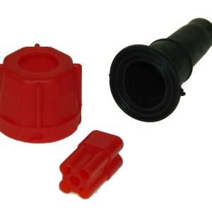 Maypole Harness – Radex 5 Pin Red Plug Kit (Bag Of 10 = 1) Dp – MP804PR