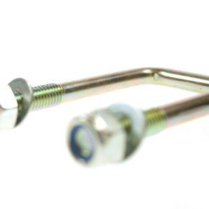 Maypole U Bolt With Nyloc Nuts & Washers 40 X 60mm High Tensile Bk – MP911B