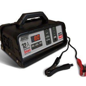 Maypole Battery Charger 12A 12V Electronic Bench Smart Charger – MP74212
