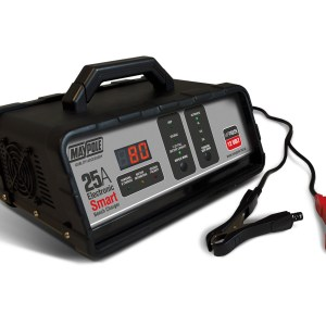 Maypole Battery Charger 25A 12V Electronic Bench Smart Charger – MP74225