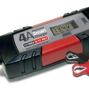 Maypole Battery Charger 4A 12V Auto Electronic – MP7423