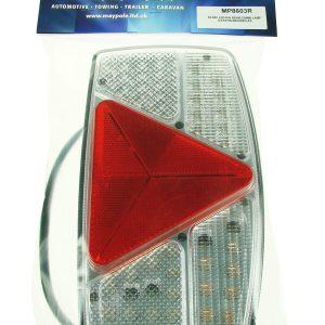 Maypole Lamp – R/H Horiz 10-30V LED Rear Combi Stop/Tail/Ind/Fog/Rev/Reflex Dp – MP8603R