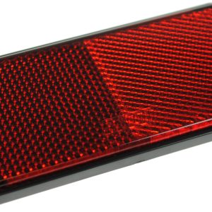 Maypole Reflector – Red With Self Adhesive Backing Bk – MP8857SSB