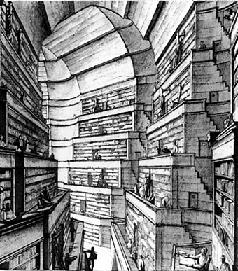 Borges' Bookshelf