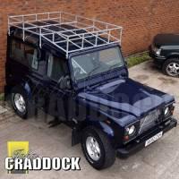 JC202 - Series & Defender Roof Rack Galvanised Swb