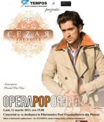 afis concert Cezar The Voice