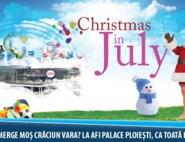 Crăciun în luna iulie?
