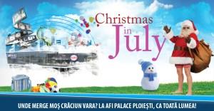 campanie, craciun in iulie, christmas in july, afi palace ploiesti