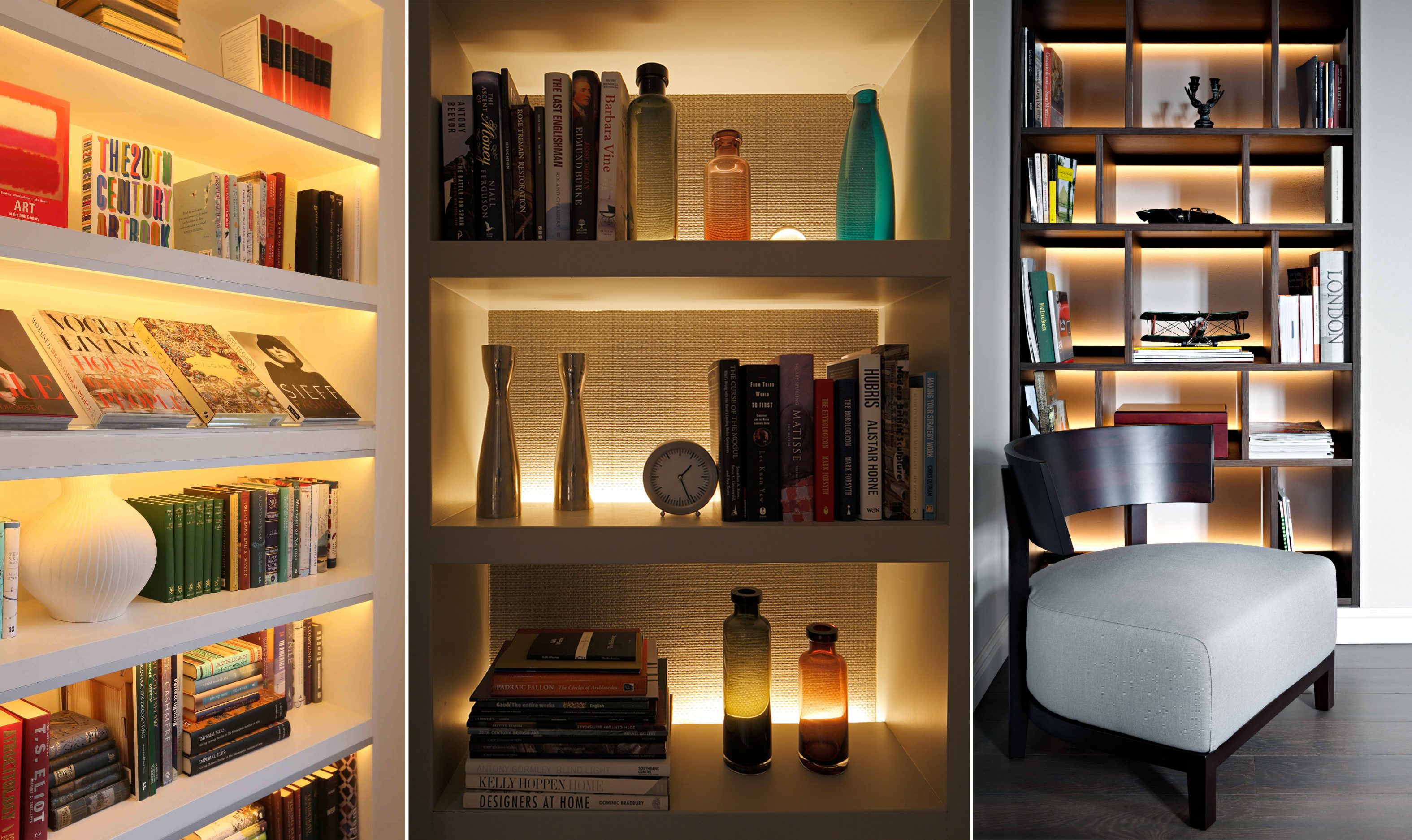 shelf lighting ideas john cullen