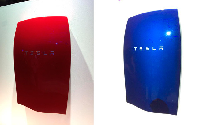 tesla powerwall colours