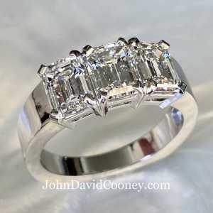 Three Stone Ring PT
