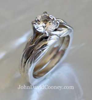 14k W engadgment ring
