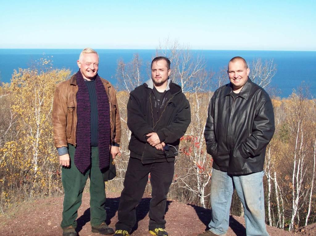 John de Nugent, Mike Helms and TruTube owner Mike Delaney