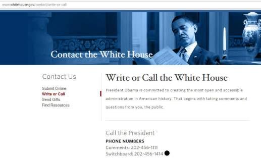 obama-white-house-switchboard-telephone-number-202-456-1414