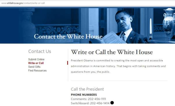 obama-white-house-switchboard-telephone-number-202-456-1414