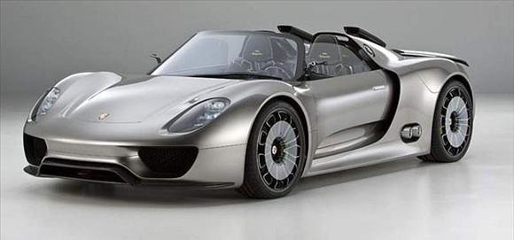 The Porsche 918 Spyder Hybrid Concept Supercar!