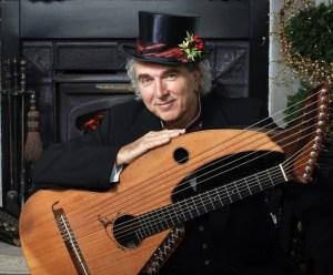 John doan Victorian Christmas Concert with harp buitar