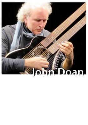 Beyond Six Strings - John Doan Poster Name