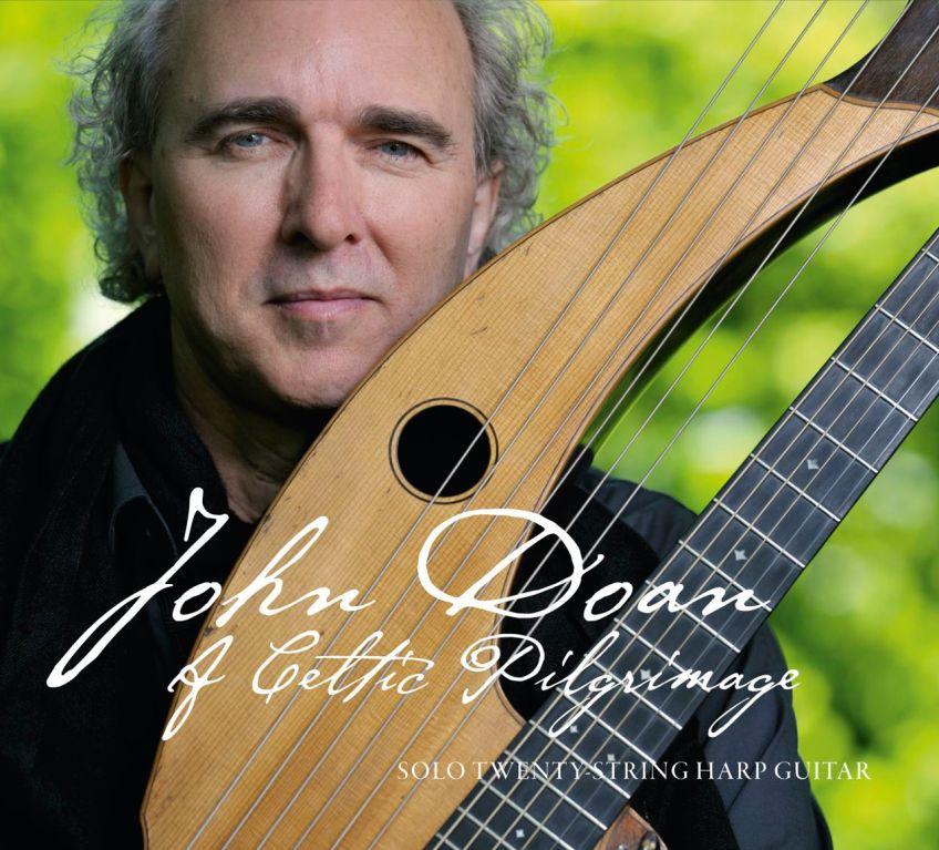John Doan on Cover Celtic Pilgrimage CD