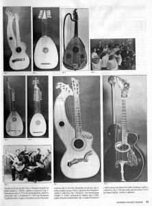 Frets Sept playing the harp guitar 1988 pg51 - historical stringed instruments and harp guitars