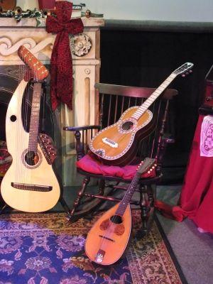Harp Guitar gt mandola Christmas John Doan