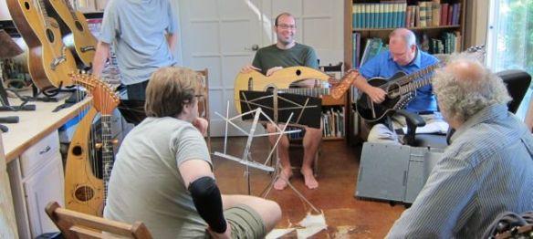 1. John Doan Harp Guitar Retreat Morning Class