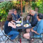 11. John Doan Harp Guitar Retreat Potluck Ken, Kerry