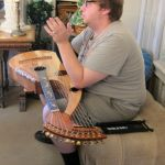 14. John Doan Harp Guitar Retreat Nick b4 performance