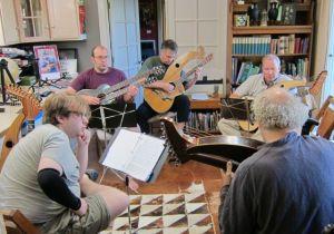 2. John Doan Harp Guitar Retreat Morning Class