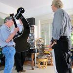 25. Jeff Elliott w harp guitar