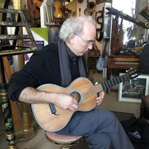 1.John Doan Playing 1830's Lacote Guitar